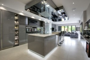 Luxury Modern Home With A Stylish Interior, State Of The Art Kitchen, 5  Reception Rooms, 5 Bedrooms, 5 Bathrooms, And Exterior Swimming Pool. North  London.